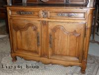 Buffet Louis XV en noyer.JPG