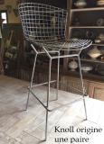 Harry Bertoia paire chaises hautes de bar.jpg
