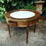 Table bouillotte Louis XVI marbre blanc.JPG
