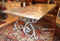 Table pied forge patine claire.JPG